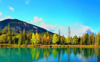 Banff National Park, het oudste nationale park van Canada
