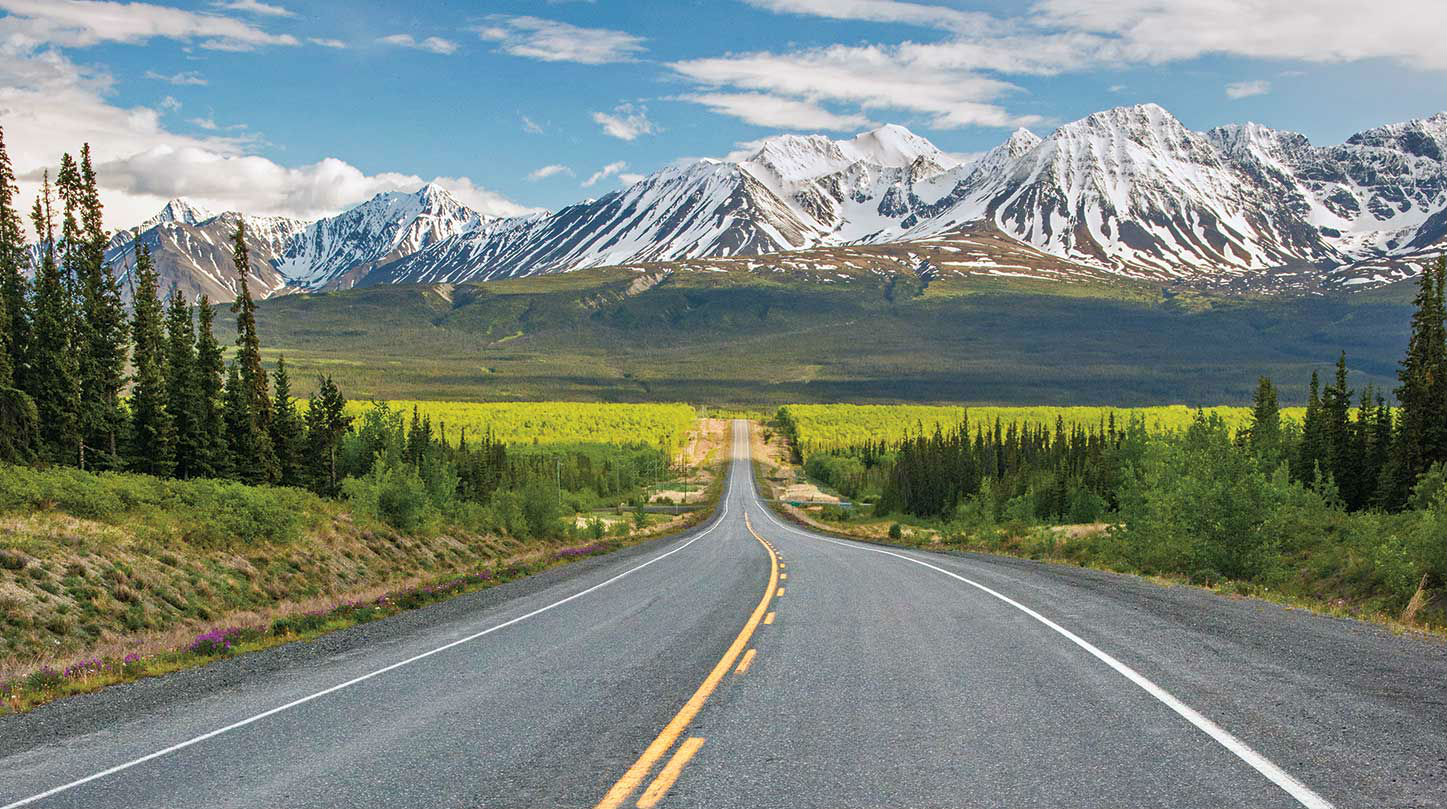 De Alaska Highway, roadtrip richting het noorden