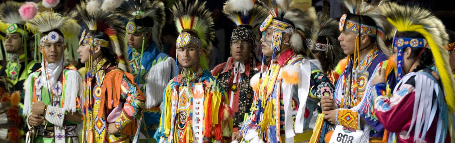 Bezoek een Powwow van de First Nations