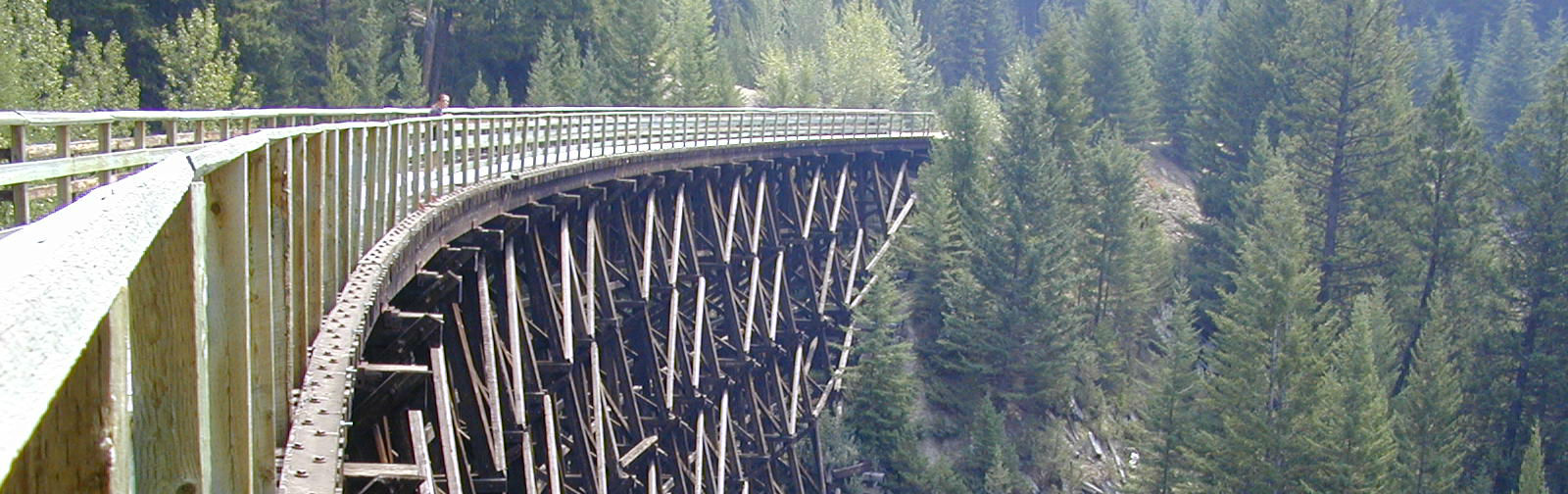 Fietsen in British Columbia: Kettle Valley Railway en Myra Canyon